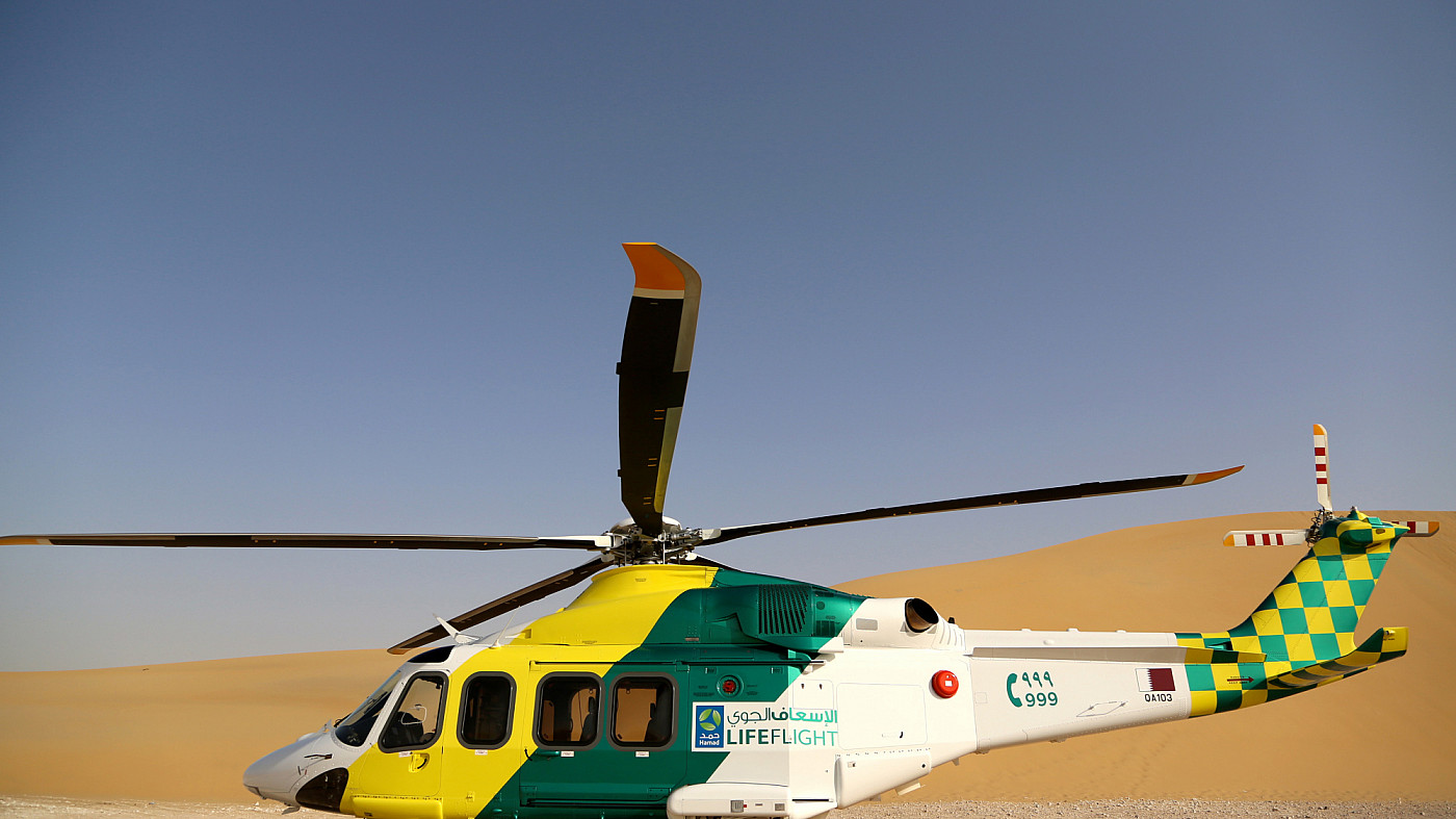 Taking Hamad Medical to the skies