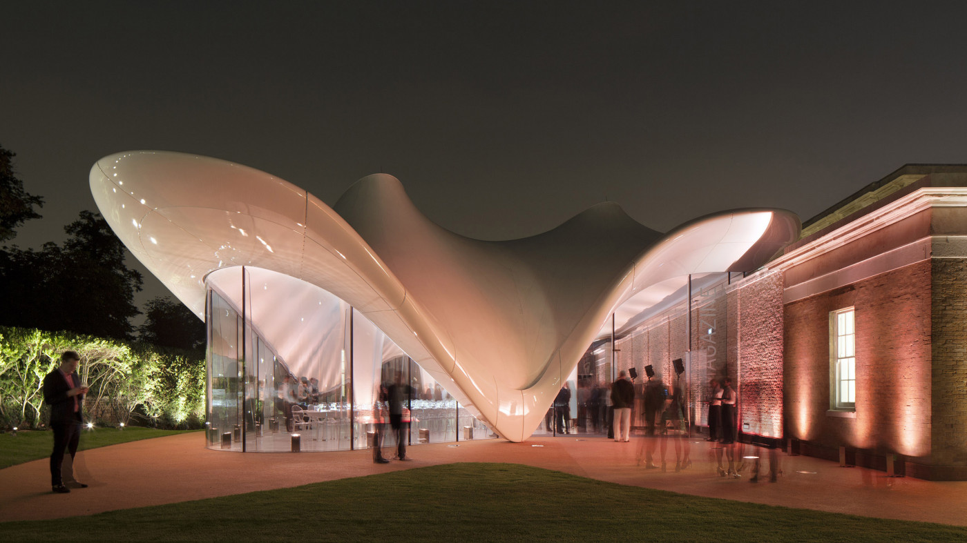 A modern twist on London culture: The Serpentine Sackler Gallery unveiled