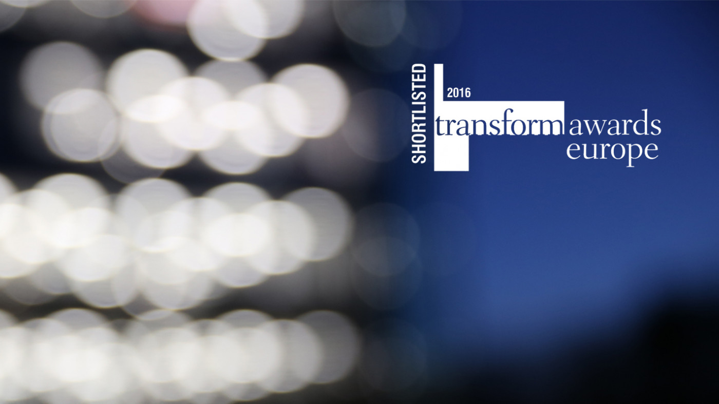 Endpoint shortlisted for two Transform 2016 Europe Awards
