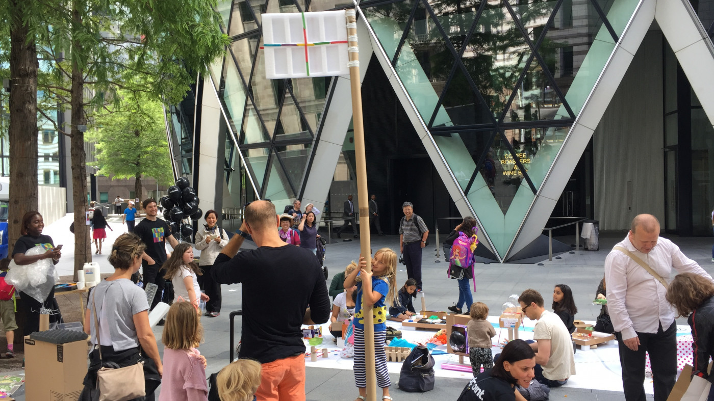 A weekend of creativity amidst the skyscrapers at the Archikids Festival