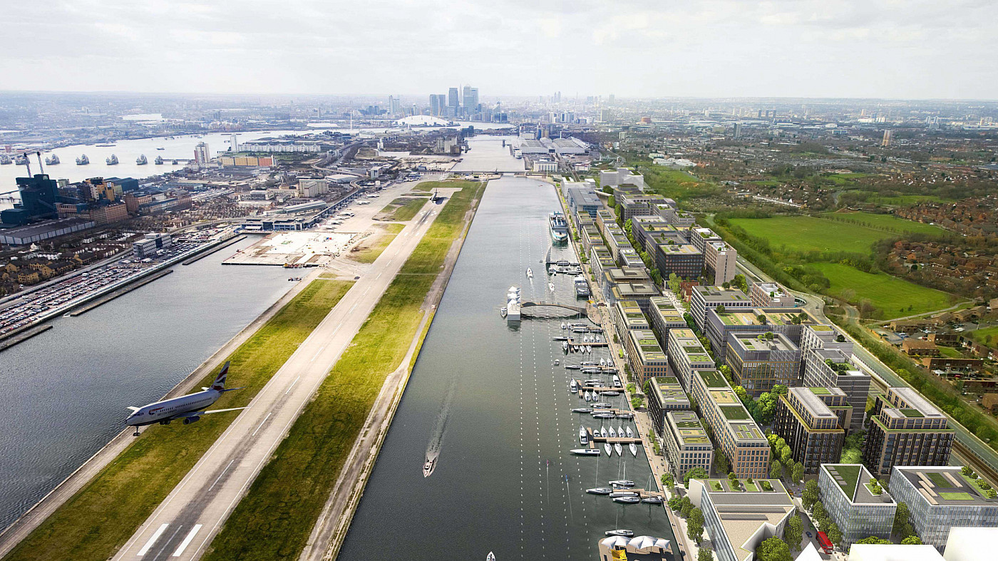 Endpoint appointed for wayfinding masterplan at London's Royal Albert Docks