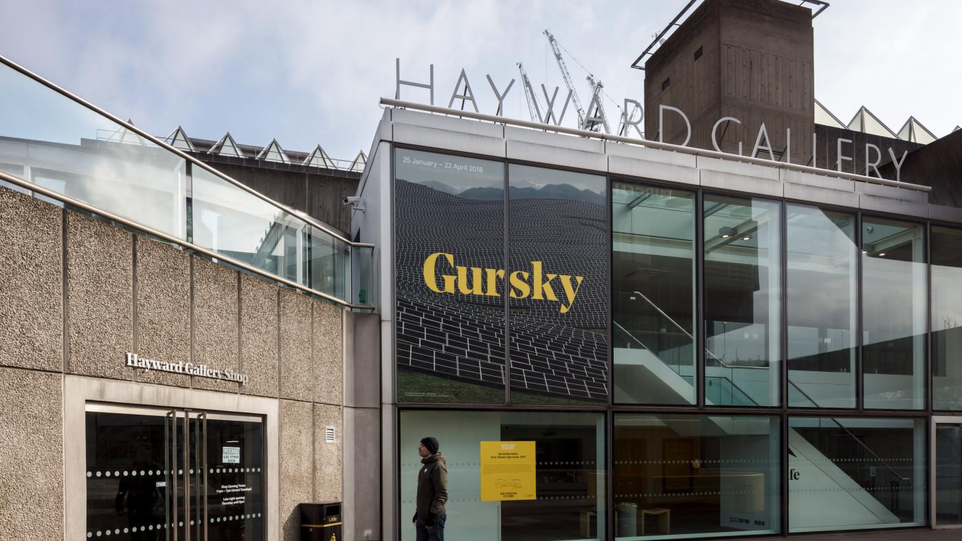 Hayward Gallery re-opens its doors to art-lovers