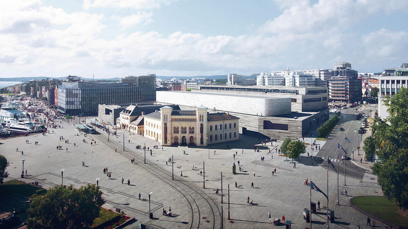 Endpoint wayfinding team begins work at Norway's new National Museum