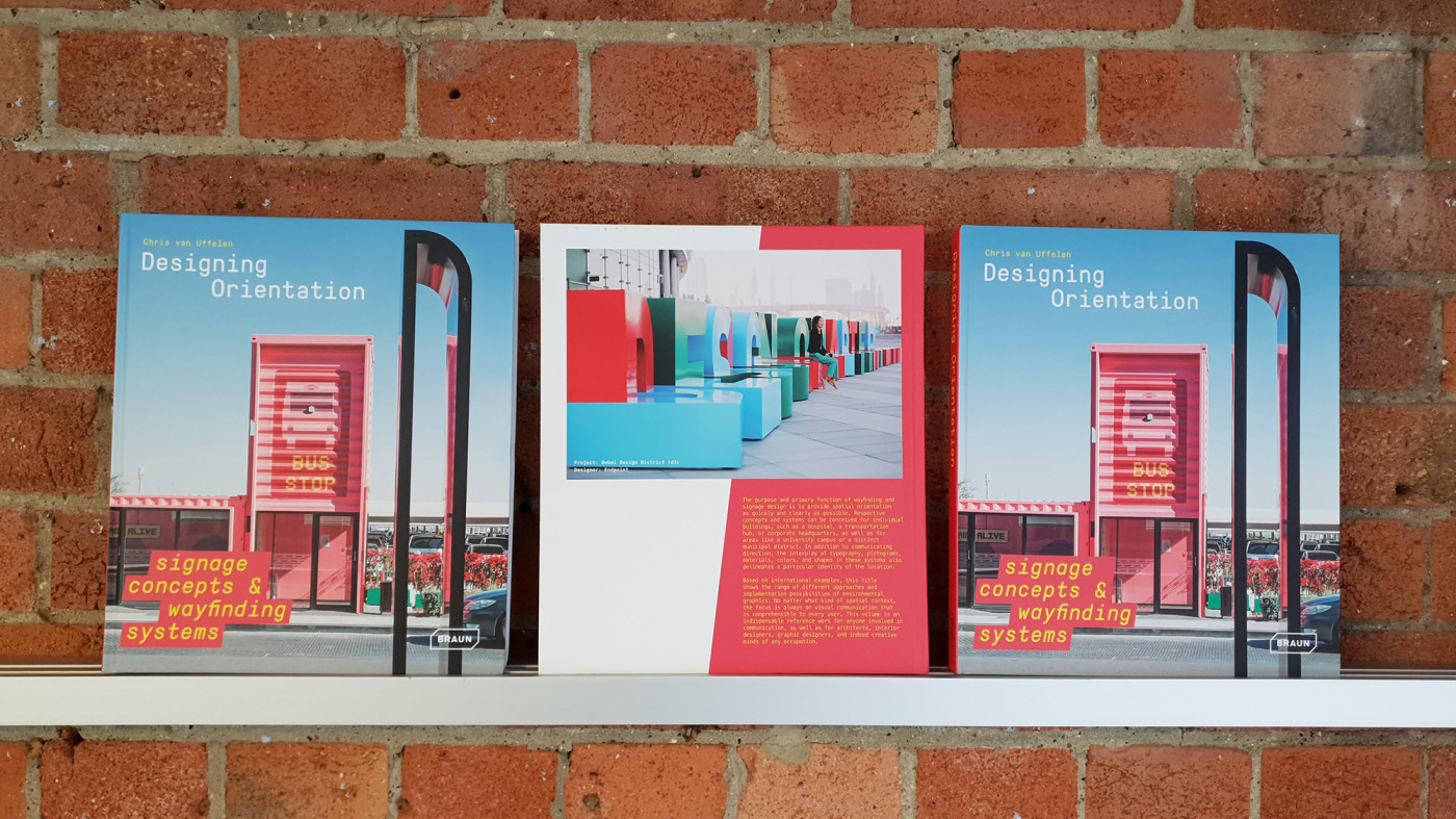 Endpoint featured in new signage & wayfinding book