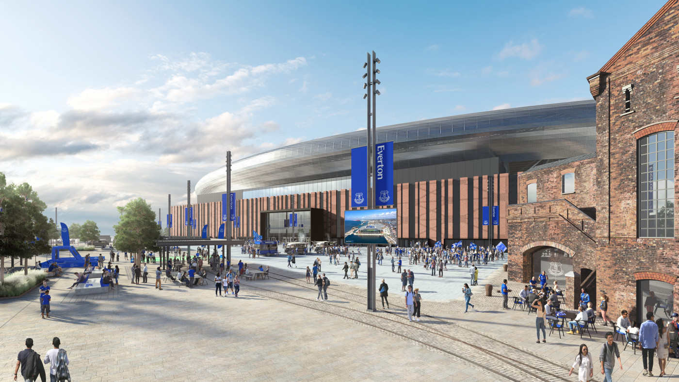 Everton's new stadium granted green light from Government
