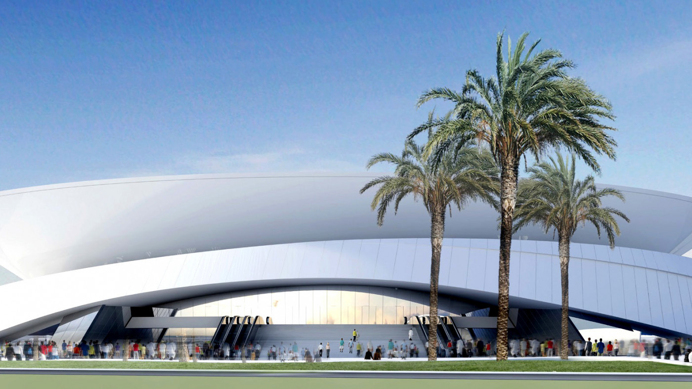 Endpoint appointed to the Doha City Tennis Stadium and Sports Precinct, Qatar