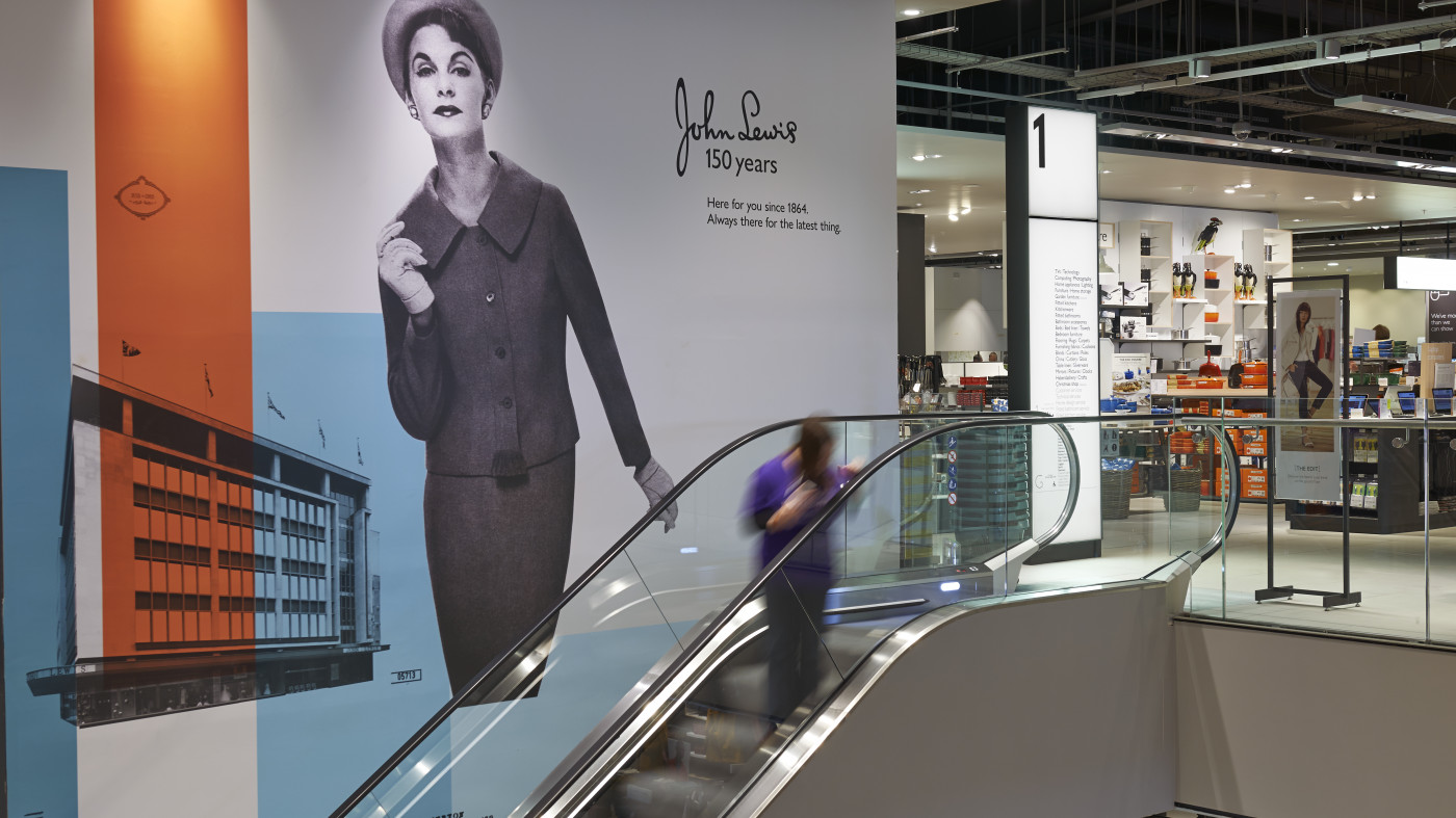 How wayfinding and sign design has reinforced JLP's position as the UK's best-loved retailer.