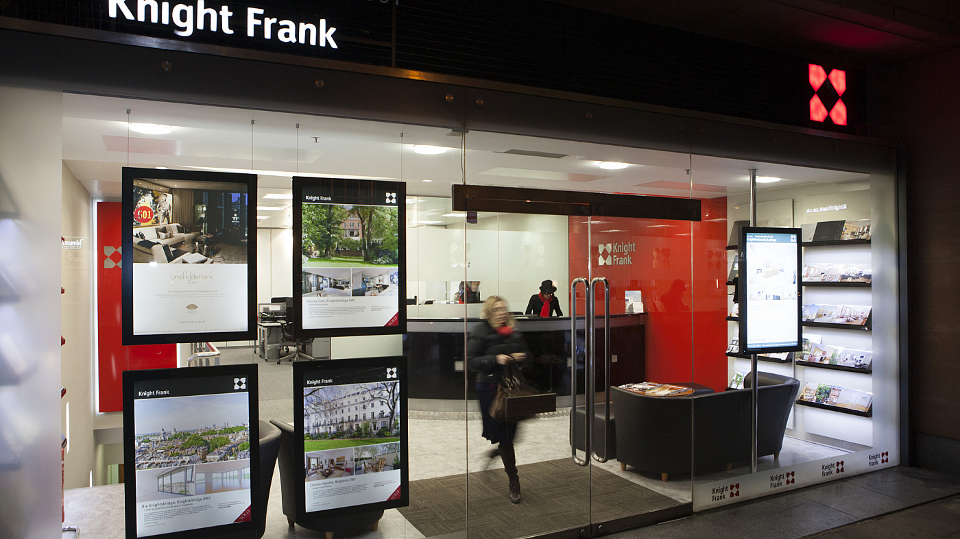 Delivering a premium branch experience for Knight Frank's deserning customers