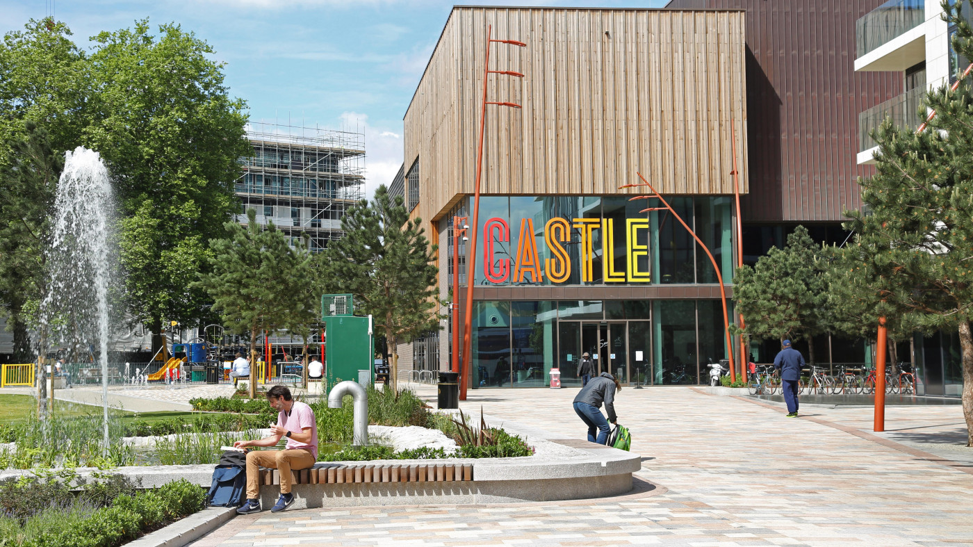 Developing a sense of place for a new community hub